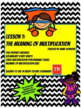Understanding the Meaning of Multiplication for the Common Core and TN Ready
