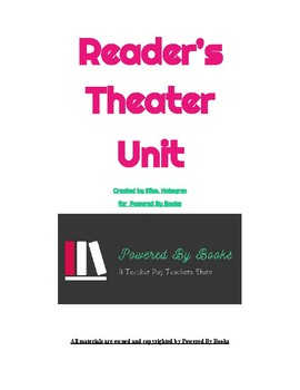 Curriculum Based Reader's Theater Unit