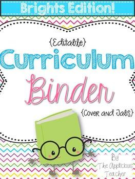 Teacher Binder BRIGHTS
