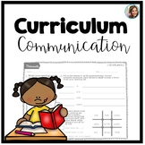 Curriculum Communication | Speech and Language Therapy
