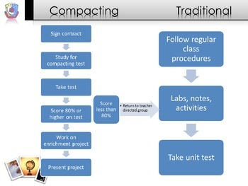 Curriculum Compacting Explanation for Students