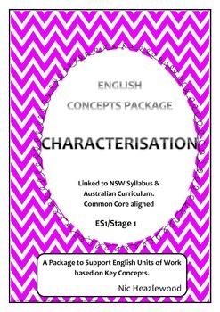 Curriculum Concepts - Characterisation