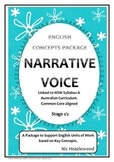 Curriculum Concepts - Narrative Voice
