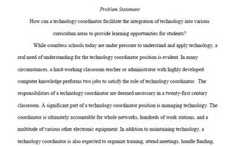 Curriculum Design Research Inquiry Project