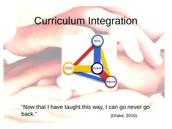 Curriculum Integration - Why? How? Tips! and Impact!!