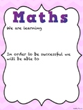 Curriculum Learning Intention Posters