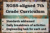 Curriculum Map: 7th Grade NGSS
