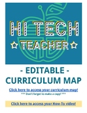 Curriculum Map - EDITABLE and ONLINE based!