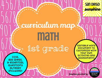 Curriculum Map Common Core Math Grade 1