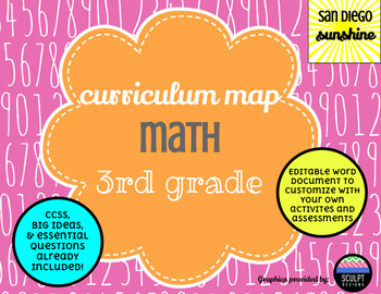 Curriculum Map Common Core Math Grade 3