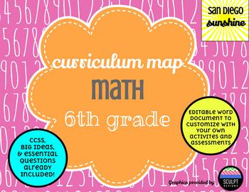 Curriculum Map Common Core Math Grade 6
