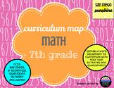 Curriculum Map Common Core Math Grade 7