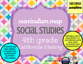 Curriculum Map Social Studies Grade 4 California