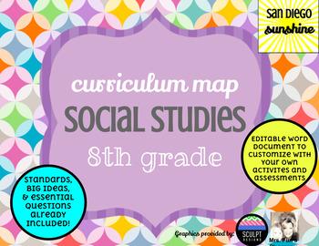 Curriculum Map Social Studies Grade 8