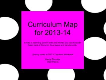 Curriculum Map for 2013