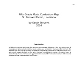 Curriculum Map for 5th Grade