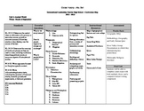Curriculum Map for 9th Grade Global History (Paleolithic Age-Age of Exploration
