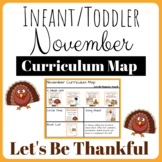 Curriculum Map for November- Year B