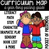 Curriculum Map for Preschool, Pre-K, and Kindergarten