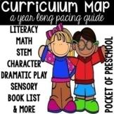 Curriculum Map for Preschool, Pre-K, and Kindergarten