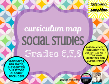 Curriculum Maps Social Studies Grades 678
