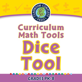 Curriculum Math Tools - Dice Tool - PC Gr. PK-8