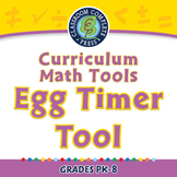Curriculum Math Tools - Egg Timer Tool - PC Gr. PK-8