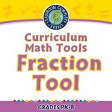 Curriculum Math Tools - Fraction Tool - MAC Gr. PK-8