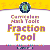 Curriculum Math Tools - Fraction Tool - NOTEBOOK Gr. PK-8
