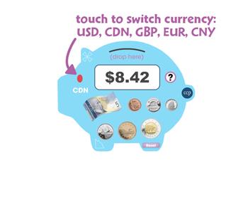 Curriculum Math Tools - Money Counter Tool - NOTEBOOK Gr. PK-8