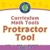 Curriculum Math Tools - Protractor Tool - NOTEBOOK Gr. PK-8
