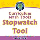Curriculum Math Tools - Stopwatch Tool - MAC Gr. PK-8