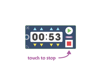 Curriculum Math Tools - Stopwatch Tool - PC Gr. PK-8