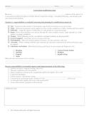 Curriculum Modification Plan and Documetation