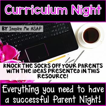 Curriculum Night / Parent Night