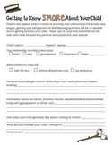 S'More Curriculum Night Forms