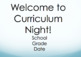 Curriculum Night Powerpoint- Editable for YOUR class!  :)