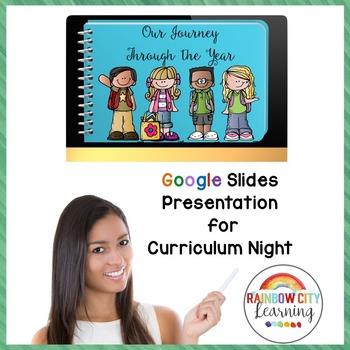 Curriculum Night Presentation for GOOGLE Drive