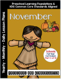 Curriculum Notebook #3 -November