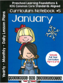 Curriculum Notebook #5 - January
