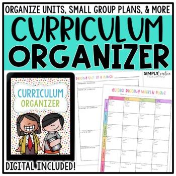 Curriculum Organizer *EDITABLE*