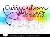 Curriculum Pacing