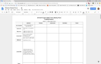 Editable Planning Guides Bundle