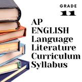 Curriculum Syllabus English Literature Grade 11 Aligned AP