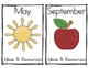 Curriculum Tub Labels