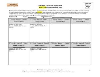 Curriculum Unit Map Template (2)