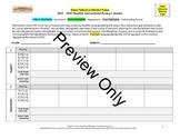 Curriculum Unit Map and Instructional Pacing Calendar Bundle (Monthly)