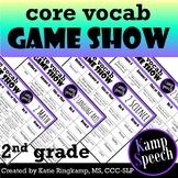 Curriculum Vocabulary Game Show:  2nd Grade Edition