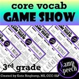 Curriculum Vocabulary Game Show: 3rd Grade Edition