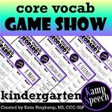 Curriculum Vocabulary Jeopardy: Kindergarten Edition